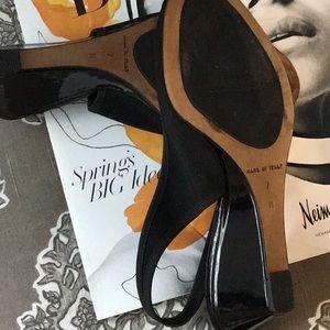 Donald J. Pliner Shoes - Donald J. Pliner Couture Peep Toe Slingback Wedges